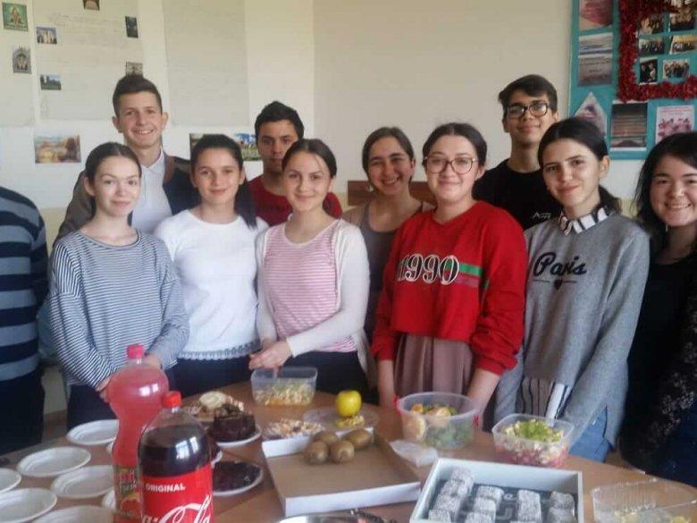 Concurs culinar, clasa a X-a A, diriginte prof. Bărbuș Liviu